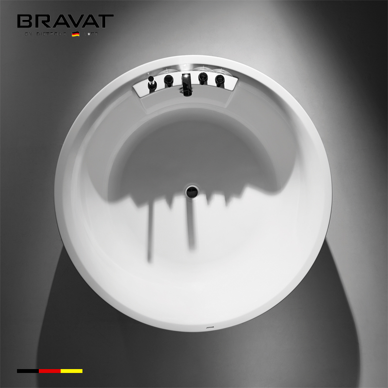 1.6 mm Free Standing Bathtub B25647TW-1W