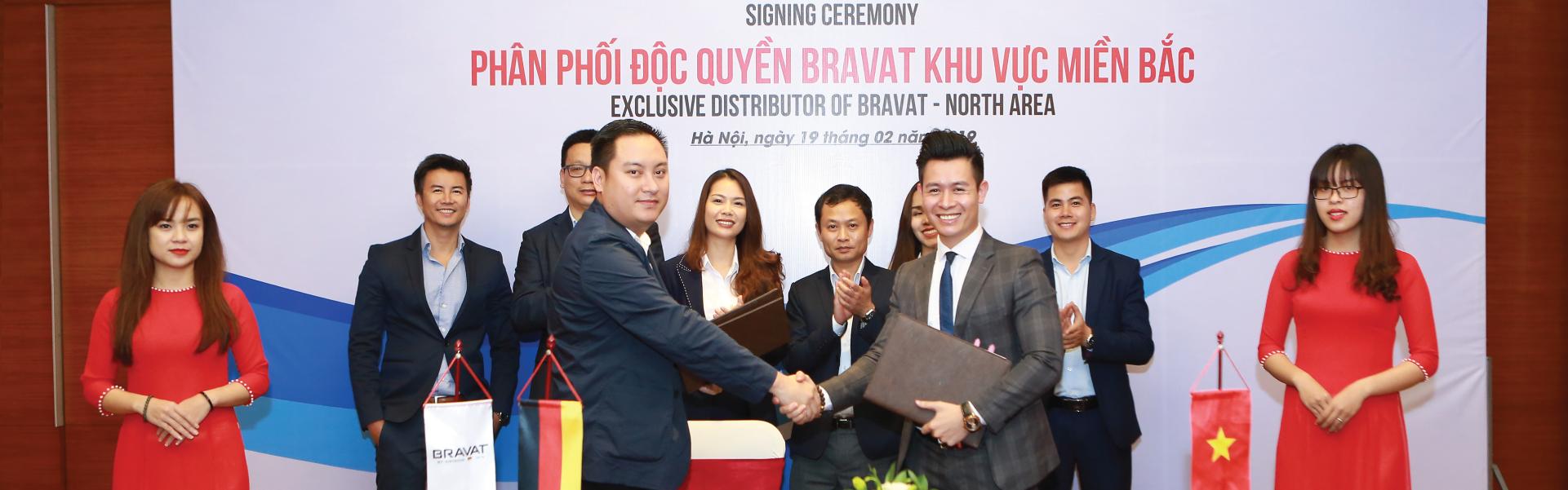 Bravat miền bắc phân phối độc quyền thiết bị vệ sinh Bravat