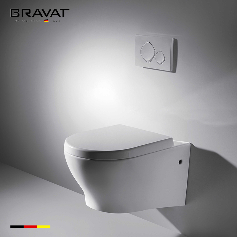 Wall-hung Toilet with Spray Jet C01017W-1A-IN