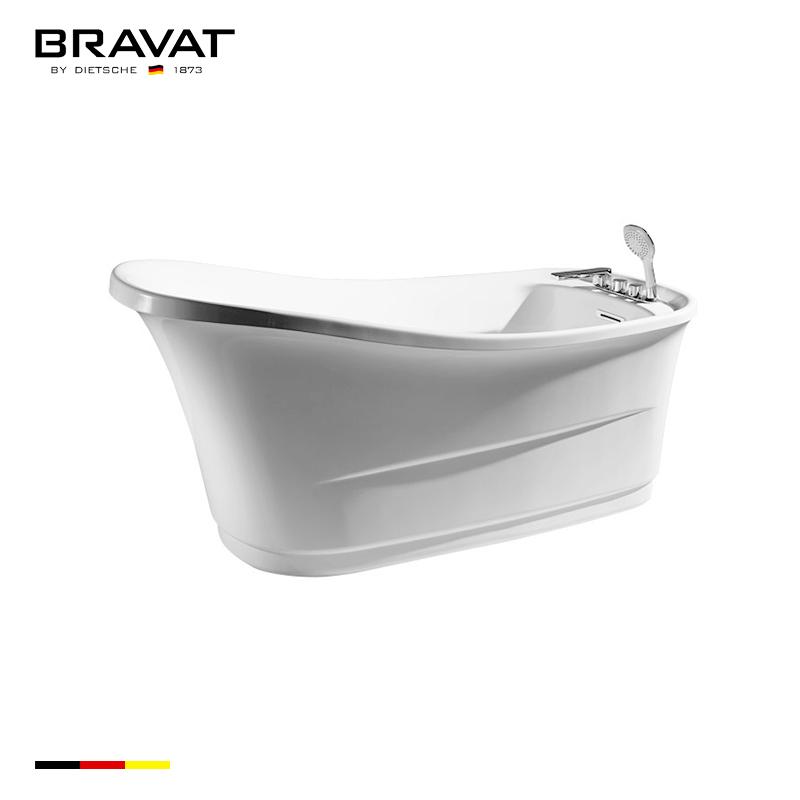 1.5m Free Standing Bathtub B25546TW-1W