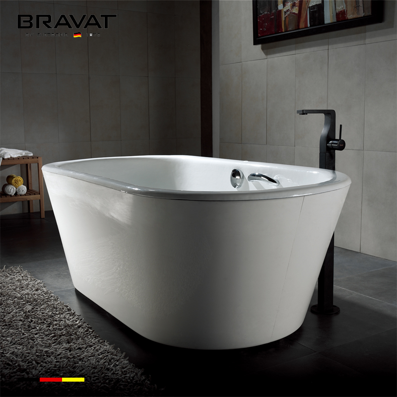 1.7m Free Standing Bathtub B25701TW-1W
