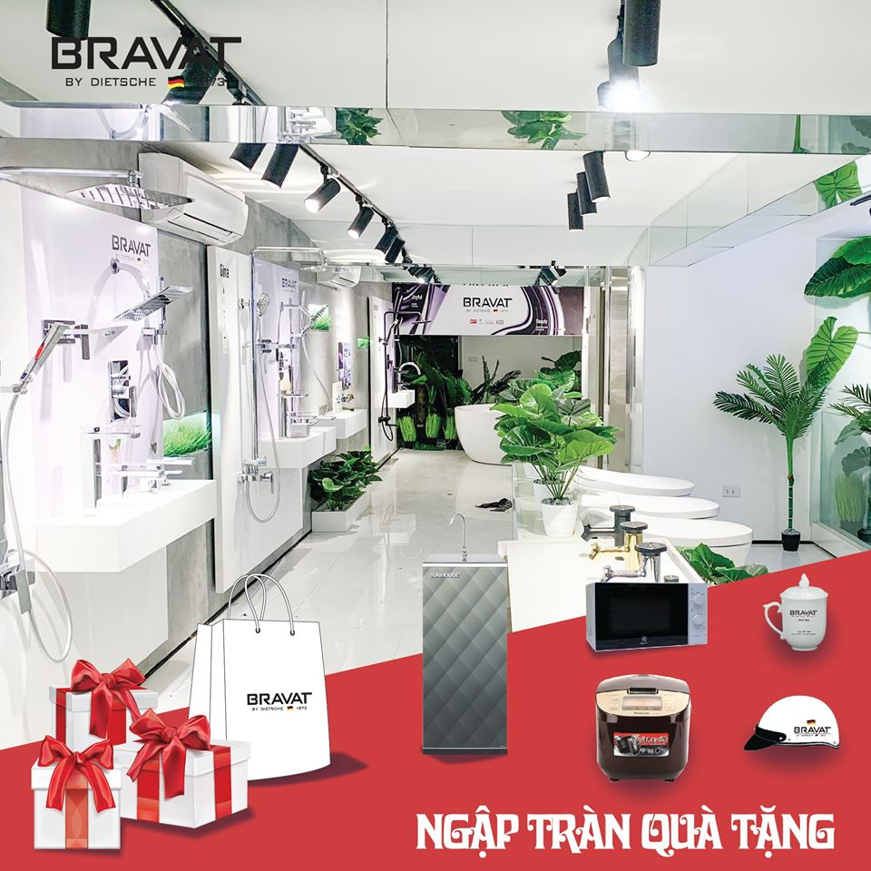 showroom Bravat Miền Bắc