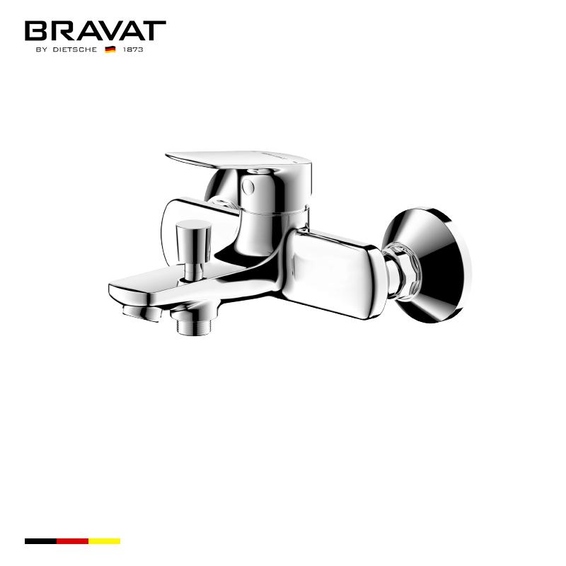 Single Handle Wall Mounted Bath & Shower Mixer F6429564CP-01-ENG