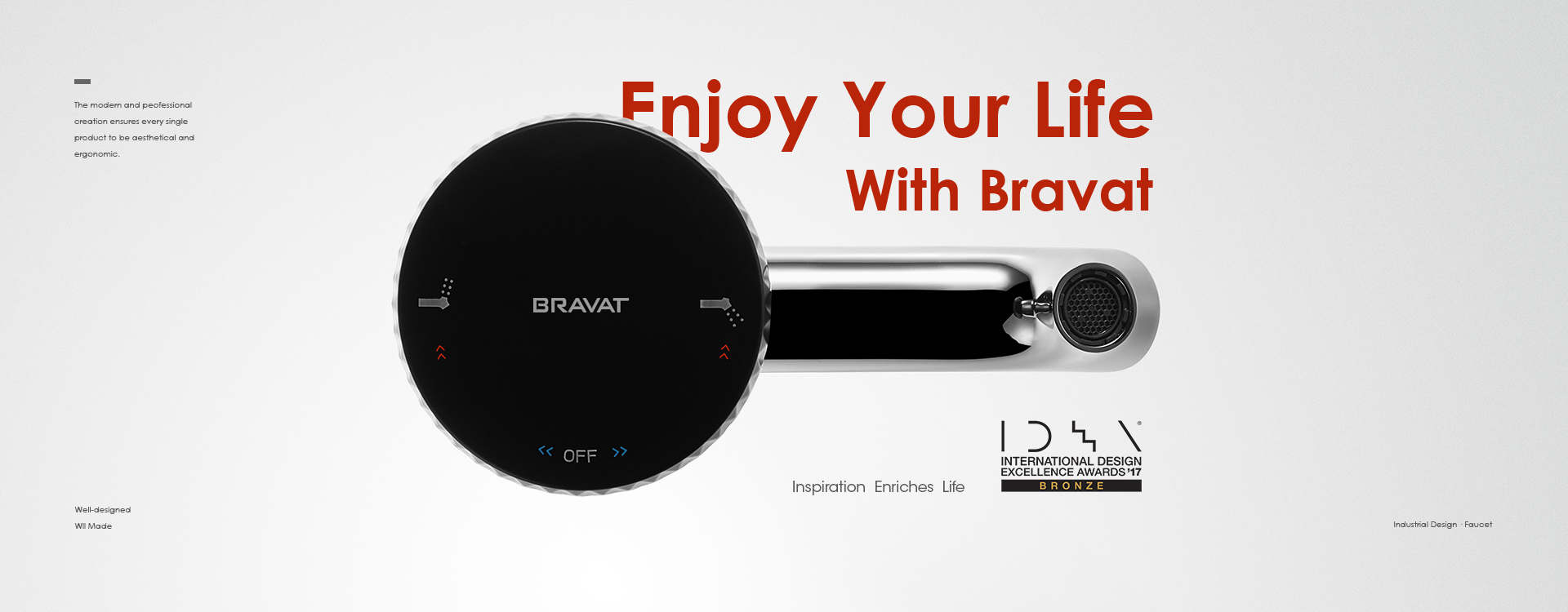 Enjoy Your Life With Bravat