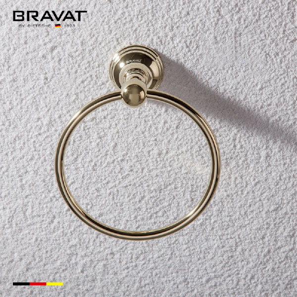 Towel Ring (Golden) D7591BAF-ENG