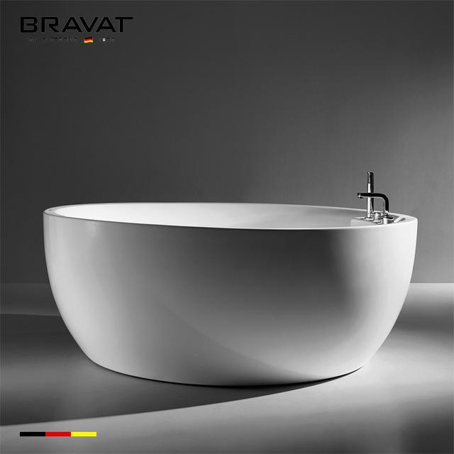 1.6m Bubble Standing Bathtub (Bubble) B25647TW-3W